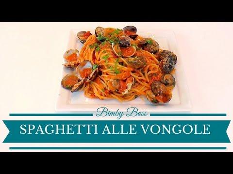 ricetta bimby: spaghetti con le vongole