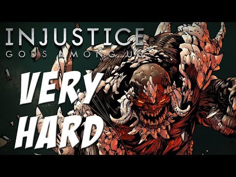 Injustice: Gods among us – Doomsday – Classic battles on Very Hard – NO MATCHES LOST!