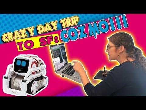 Crazy Day Trip to SF: COZMO!!!