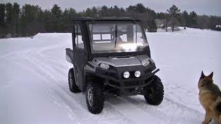 2. 2009 Polaris Ranger 700 HD Snow Ride