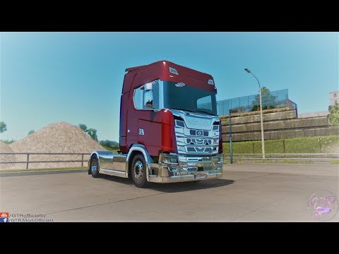 Scania S & R Next Gen Accessories Chrome v1.1