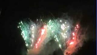 Feuerwerk Extraschicht 2008 in Waltrop