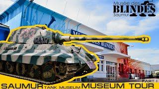 Mus  E Des Blind  S Tour   Saumur Tank Museum 2016 Part 1