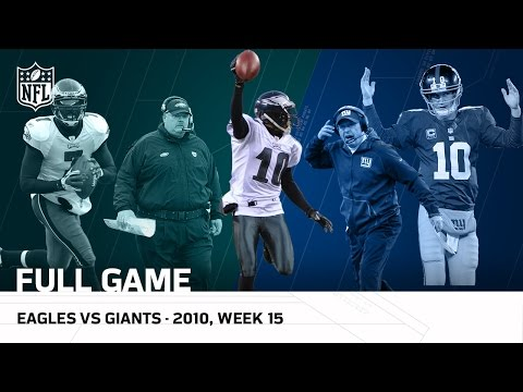Video: Miracle at the New Meadowlands   Eagles vs. Giants (Week 15, 2010 FULL GAME)   NFL