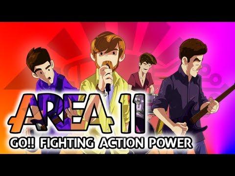 Area 11 - GO!! Fighting Action Power lyrics