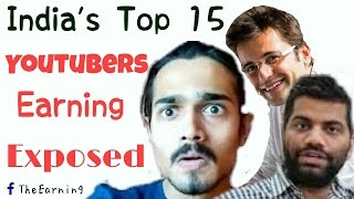 Video Top Youtubers in India and their earnings | List of 15 Popular Indian Youtubers of 2016 . MP3, 3GP, MP4, WEBM, AVI, FLV November 2017