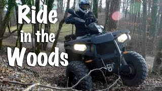 9. Smooth Ride in the Woods: Polaris Sportsman 570