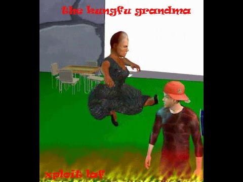 akpos and the kungfu grandma [xploit laf funny nigerian cartoon]