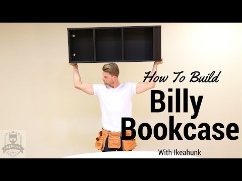 How to Assemble IKEA Billy Bookcase