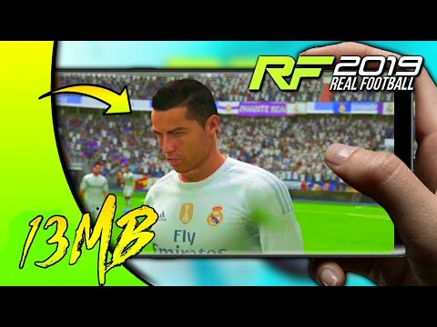 🔥REAL FOOTBALL 2019 APK+DATA IN 13MB || FULL GAME DOWNLOAD || HD GRAPHICS