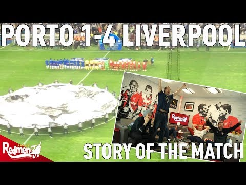 Porto V Liverpool 1-4 | Story Of The Match