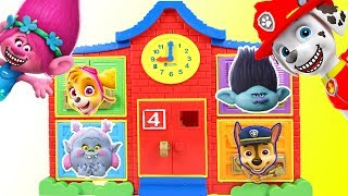 Help Paw Patrol Find Marshall at Latch & Learn School Playset Biggest Colors, Counting Pt 2