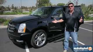 2012 Cadillac Escalade Test Drive&Luxury SUV Video Review