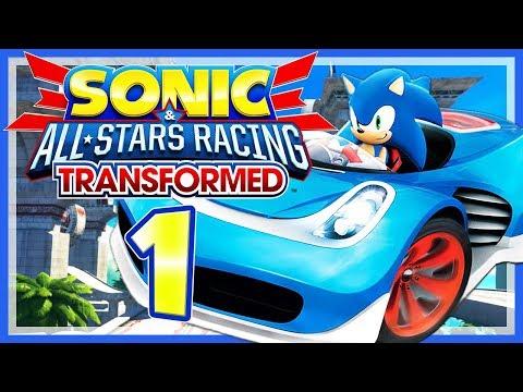 SONIC & ALL-STARS RACING TRANSFORMED # 01 🏎️ HD-Funracer mit Sonic und der ganzen Sega-Welt! [HD60]