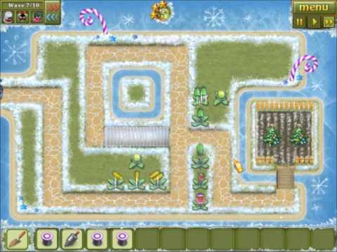 Garden Rescue Christmas level 6 General no gadgets walkthrough