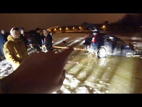 СR-V провалился под лёд SVR в покраске Маджеста разобрана. - DomaVideo.Ru