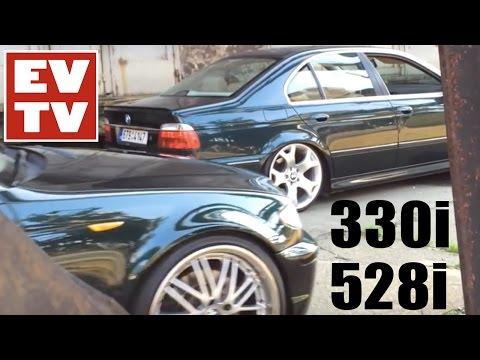 Static BMW E46 330i & E39 528i on 19