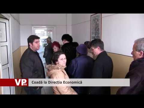 Coadă la Direcția Economică