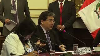 Contraloría expone en Comisión de Reconstrucción del Congreso 06/10/2017