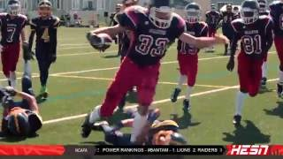 NCAFA 2K16 - PEEWEE - Week 1 [ GIANTS VS WARRIORS
