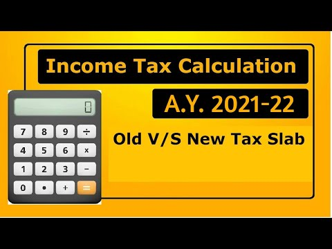 Income Tax Calculation 2020   New Income Tax Rates   New Tax v/s Old Tax 2020-21