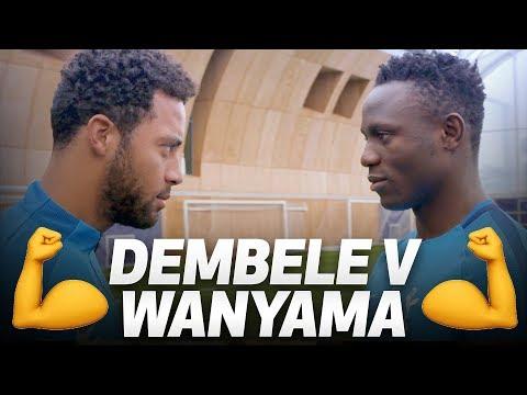 WHO IS THE STRONGEST? 💪 MOUSA DEMBELE V VICTOR WANYAMA (видео)