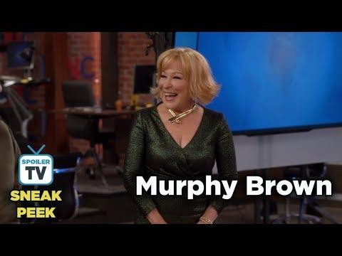 "Murphy Brown 11x07 Sneak Peek 1 ""A Lifetime of Achievement"""