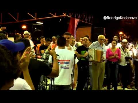 Orgullosa En Villanueva Jorge Celedon Y Fabian...