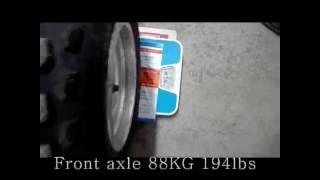 9. Suzuki LTZ 400 weight real KFX400 DVx400 gewicht actual