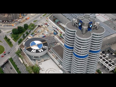 BMW Car Engine Manufacturing Factory - Germany
