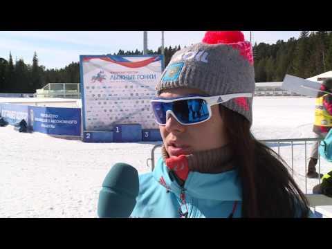 Анастасия Седова - серебряный призёр чемпионата России в гонке на 10 км свободным стилем
