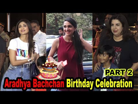 Many Celebs at Aaradhya Bachchan Birthday Celebration Part 2