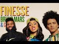 Download Video Bruno Mars - Finesse (Remix) Feat. Cardi B (Reaction/Review) #Meamda
