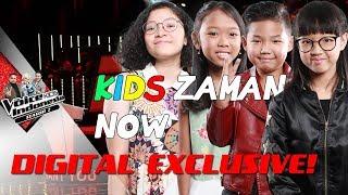 Video INI DIA BAKAT-BAKAT KIDS ZAMAN NOW | VLOG #7 | The Voice Kids Indonesia S2 GTV 2017 MP3, 3GP, MP4, WEBM, AVI, FLV Oktober 2017