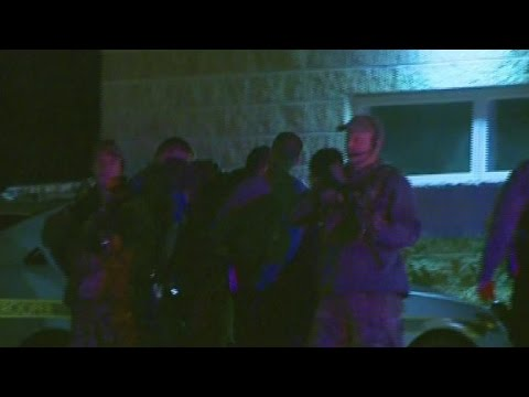 Taken - Video from CNN affiliate WNEP shows Eric Matthew Frein being taken into custody after being captured without incident.