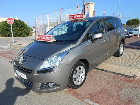 See video Peugeot 5008 1.6eHDi BUSINESS LINE AUTO
