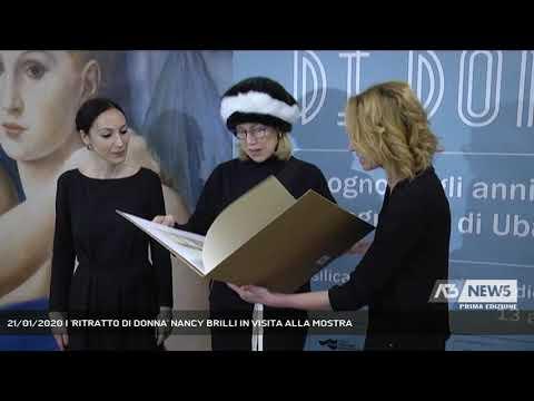 21/01/2020 | 'RITRATTO DI DONNA' NANCY BRILLI IN VISITA ALLA MOSTRA