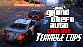 Grand Theft Auto Online - Terrible Cops (Part 2)