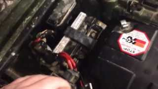 9. Installing LED lights on 2011 Honda foreman 500 power steering. Part 1 of 2.