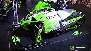 4. 2018 Arctic Cat ZR 8000 RR Sled - Walkaround - 2017 Toronto Snowmobile ATV Show