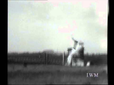 bouncing - 1943 Archive footage from the Imperial War Museum showing 'Highball' a type of the 'Bouncing Bomb' being tested at Ashley Walk Bombing Range in the North of ...