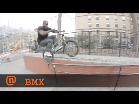 Nigel Sylvester  Get Sylvester 2: BMX and New York City | Video by 13th Witness & Harrison Boyce