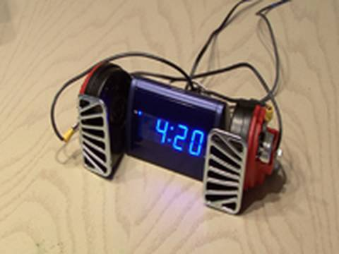 World's Loudest Alarm Clock.