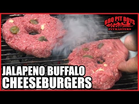 Buffalo - Are your Buffalo burgers too dry? The BBQ Pit Boys take that super lean American Bison ground meat and add some heat, and plenty of juiciness to the mix, to produce a mighty fine cheeseburger....