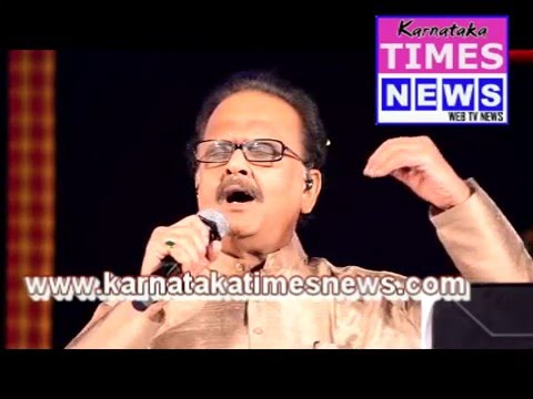 Mesmerizing Musical Evening  By S P Balasubrahmanyam at Alva's Virasat 2015