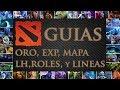 Dota 2 Guia - Experiencia, Oro, Last Hits, Minimapa, Lineas y Roles