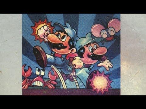 Classic Game Room - MARIO BROS. review for Atari 7800