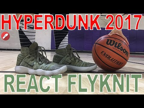 Nike React Hyperdunk 2017 Flyknit Performance Review!. - YouTube in Mp3  Files for Download