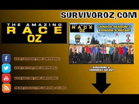 The Amazing Race Oz - Canada Season 3 Episode 9 Recap
