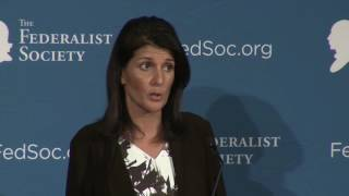 Click to play: Address by Governor Nikki Haley - Event Audio/Video